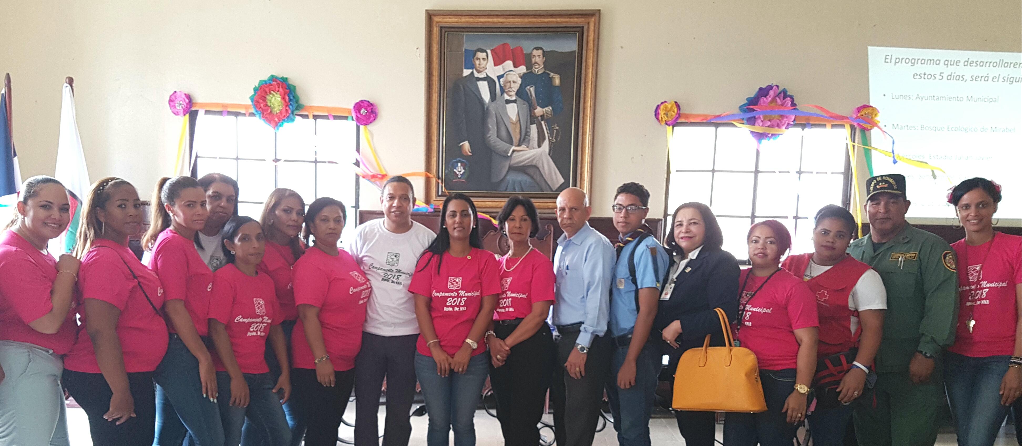 Ayuntamiento SFM apertura Campamento Municipal con la participaron de 100 niños y niñas