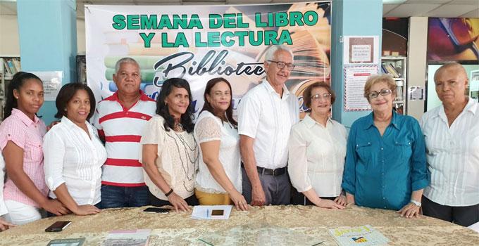 Biblioteca Municipal realiza Semana del Libro y Lectura dedicado a Mtra. Esperanza Pichardo