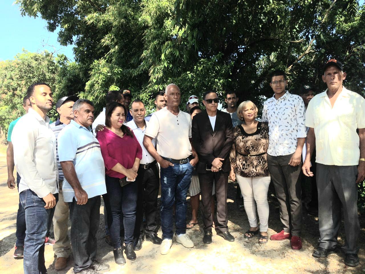 Alcalde SFM inaugura obras en comunidades Atabalero y Los Bejucos.