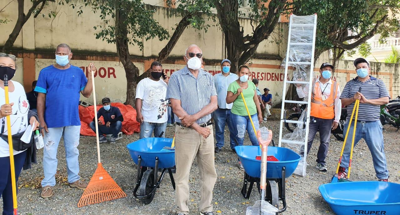 Ayuntamiento adquiere herramientas para limpieza y mantenimiento SFM