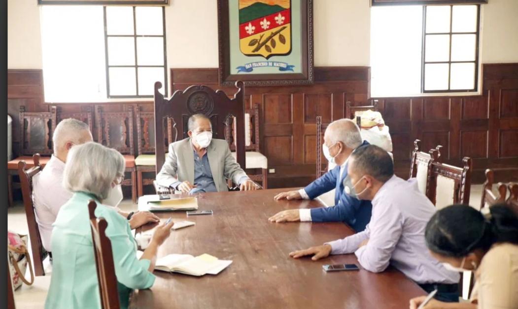 Autoridades UASD SFM encaminan acuerdo interinstitucional con el Ayuntamiento Municipal SFM
